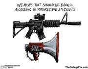 Banned weapons of progressives