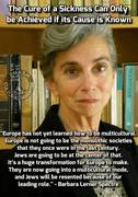 Talmudic Anti-White Jewess Barbara Lerner Spectre