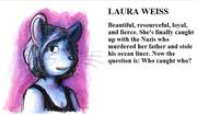 Laura Weiss from A Whisker Past Midnight