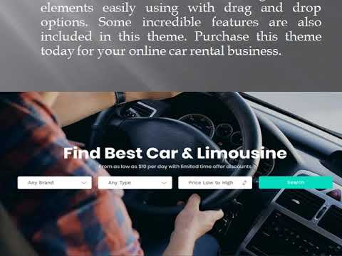 Automotive wordpress theme - Wp Web Themes