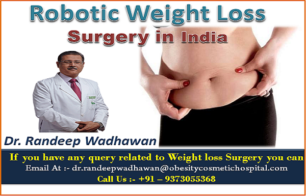 Robotic weight loss surgery in india