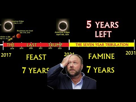 Alex Jones Confirms 7 yr Last Trump & Mark Taylor Prophecy! Rapture Zone 2017-2024!