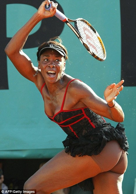 Venus williams tennis open french paris