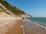 Spiaggia di Mezzavalle, prime ore del mattino