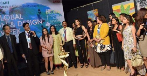 Exhibition Of Paintings Inaugurated At Global Fashion And Design Week Tripatini