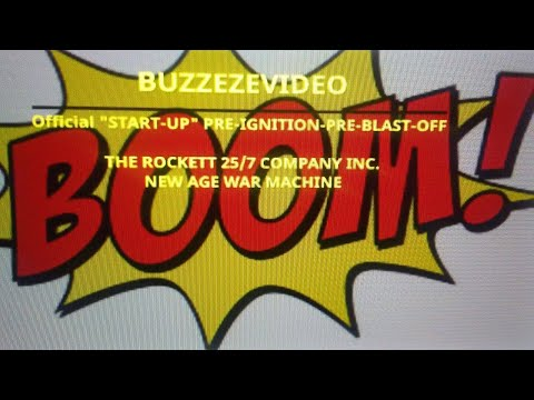 "BUZZEZEVIDEO (Official ""START-UP"" PRE-IGNITION-PRE-BLAST-OFF)"