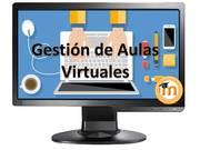 Gestión de Aulas Virtuales en Moodle.
