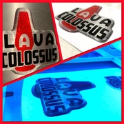 Custom Colossus Logo 3D Domed personal use only