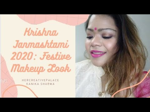 Janmashtami Special Makeup Look | Indian Festive look Makeup Tutorial | Kanika Sharma