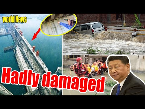 """08/15: No. 4 flood pressure is too great, """"Tam Hiep Dam"""" cannot bear it - Flood China."""