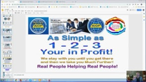 Real Business Real People Real System with Auto AIOP System, All In One Profits Webinar Replay 7th Jan 2019