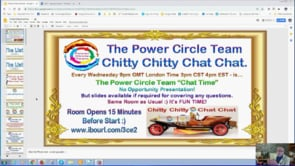 Power Circle Team Chitty Chitty Chat Chat Update Webinar Replay 9th Jan 2019