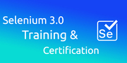 Selenium 3.0 Training & Certification (40%OFF)