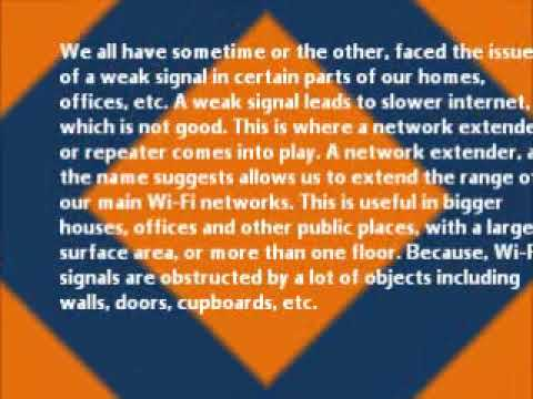 THE ADVANTAGES OF A NETWORK EXTENDER