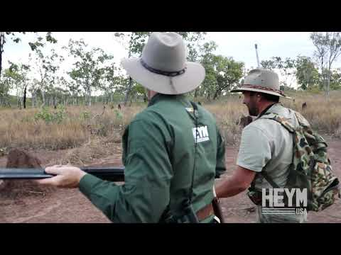 The Heym 89B - Hunting Water Buffalo in Arnhem Land