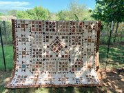 Beautiful Quilt in Browns