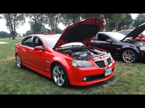 Last Of the Breed Pontiac G8 and GTO At the 2020 SVGTO All Pontiac Show