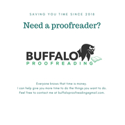 Buffalo Proofreading Ad