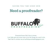 Buffalo Proofreading Ad