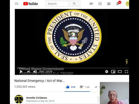 YES, IT'S REAL FOLKS ! MILITARY TRIBUNALS  at GITMO - GLOBAL CURRENCY RESET COMING