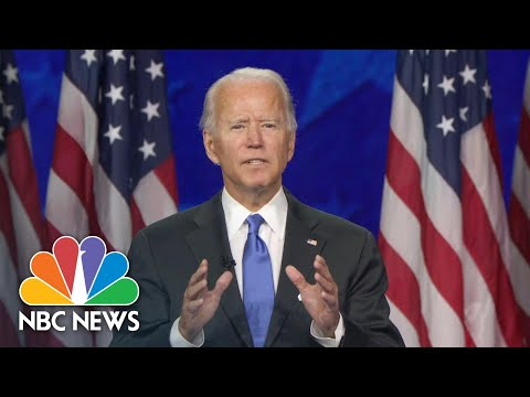 Watch Joe Biden's Full Speech At The 2020 DNC | NBC News