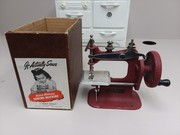 Vintage Stitch Mistress Sewing Machine Toy w/box