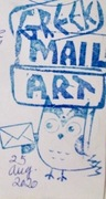 Remembering to date mail art