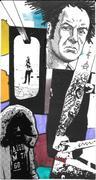 untitled mixed media mail art