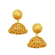 Best Gold Jhumka earring designs with price at CS Jewellers
