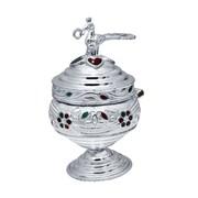 Buy fancy Pooja item at CS Jewellers   silver kumkum karanda   silver Samai