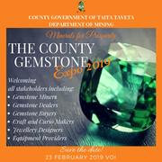 The County Gemstone Expo 2019