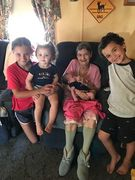 ME AND ALL FOUR OF MY GREAT GRANDBABIES.