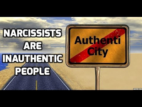 Narcissists Are Inauthentic People