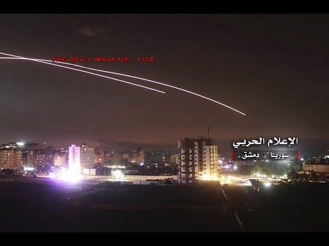 Israel Attacks Syria Again, Gaza Retaliates After Israel Attack & 5500 US-Backed Syrian Mercenaries