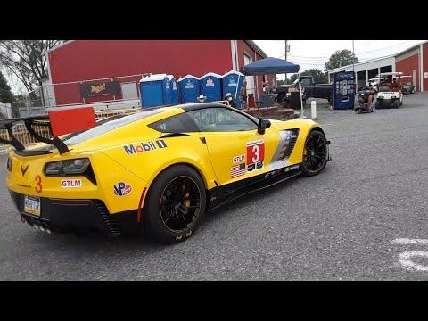 Corvette Parade At the 2020 Corvettes At the 2020 Corvettes At Carlisle