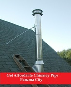 Get Affordable Chimney Pipe in Panama City | Sootmaster