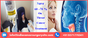 Chemotherapy For Throat Cancer Treatment In India