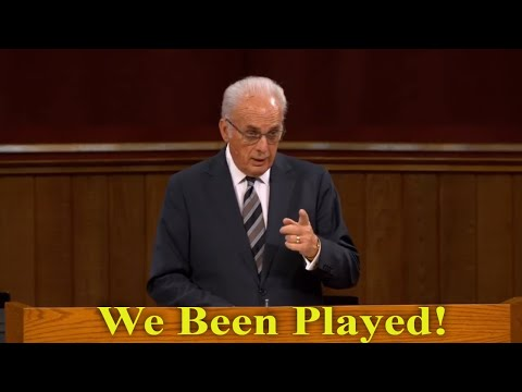 John MacArthur | We Have Been Played