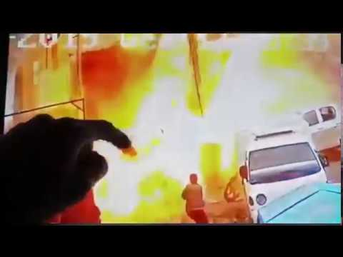 Video Of The ISIS Suicide Attack That Targeted U.S. Forces In Manbij, Syria