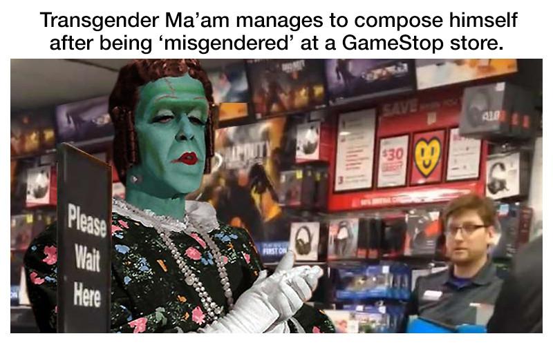"""""""It's Ma'am"""""""