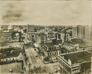 Downtown Houston in 1912
