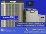 White Mechanical, Inc. - HVAC Laguna Hills Offers