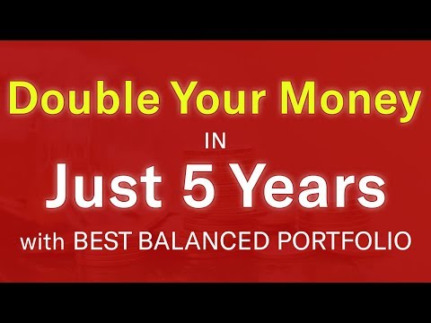 Best Mutual Funds for Moderate Risk Investors | Balanced Portfolio | 100% Returns in 5 Years