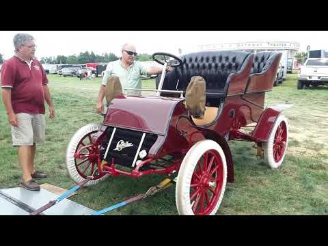 Starting A 1903 Cadillac At the 2020 AACA Eastern Nationals