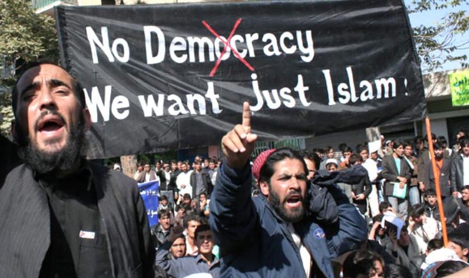islam muslim no democracy