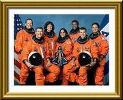 Columbia sts-107 crew