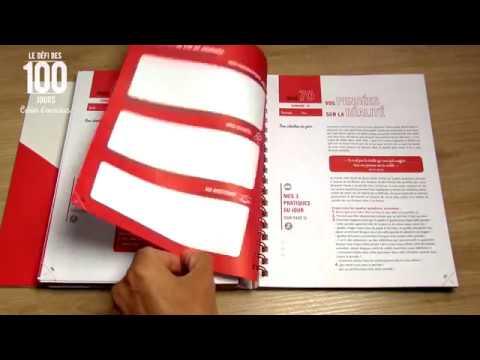 Découvrez avec moi le nouveau Cahier d'exercices du Défi des 100 jours MISSION DE VIE !