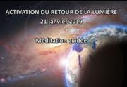 Méditation Mondiale du 21 Janvier 2019