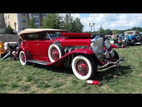1932 Duesenberg Model J Dual Cowl Phaeton At the AACA Eastern Nationals