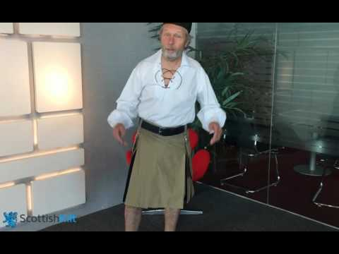 Hybrid Kilts | Outstanding Look with 2 Color Box Pleated | Scottish Kilt™